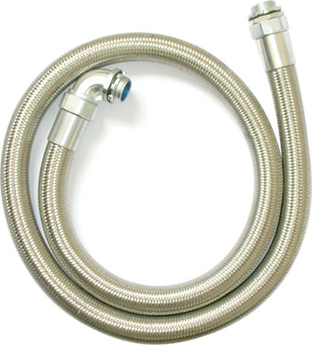 Braided flexible conduit
